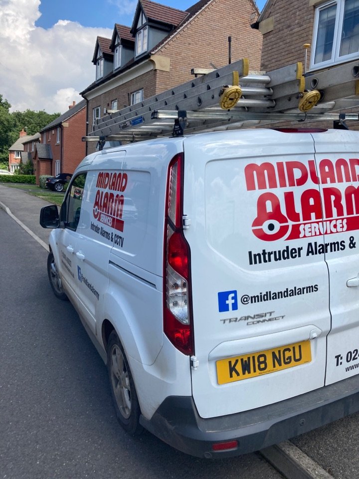 Rugby, Warwickshire - Resolved a WiFi communication fault with a wired alarm