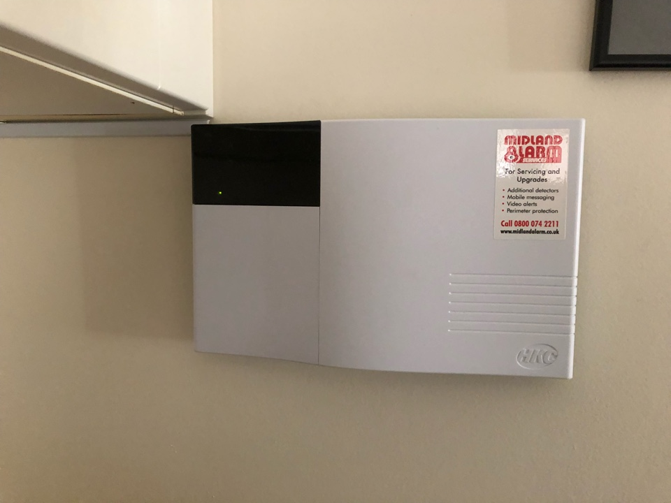 Full Service on a HKC Quantum wireless alarm we installed just over 3 years ago. This included changing all the batteries and checking all the detectors and bell box.