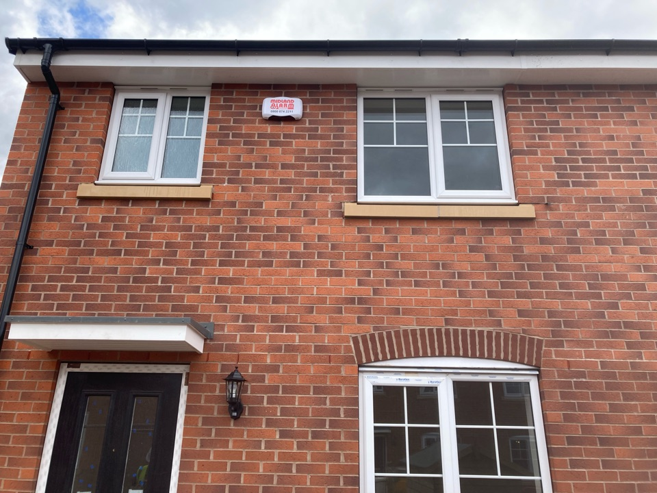 Installed a wireless HKC alarm at Taylor Wimpey Catesby View