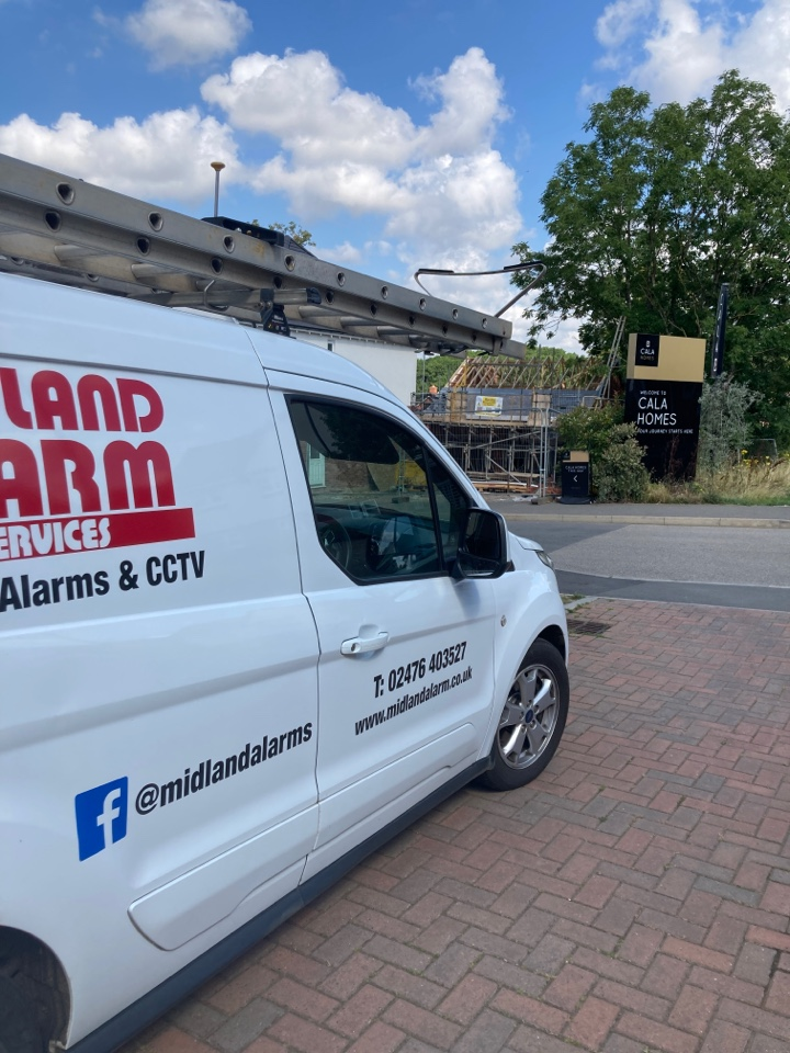 Rugby, Warwickshire - Serviced a wired alarm system
