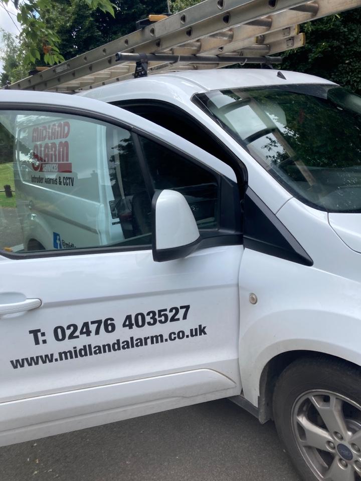 Telford, Shropshire - Serviced a HKC 10270 alarm system