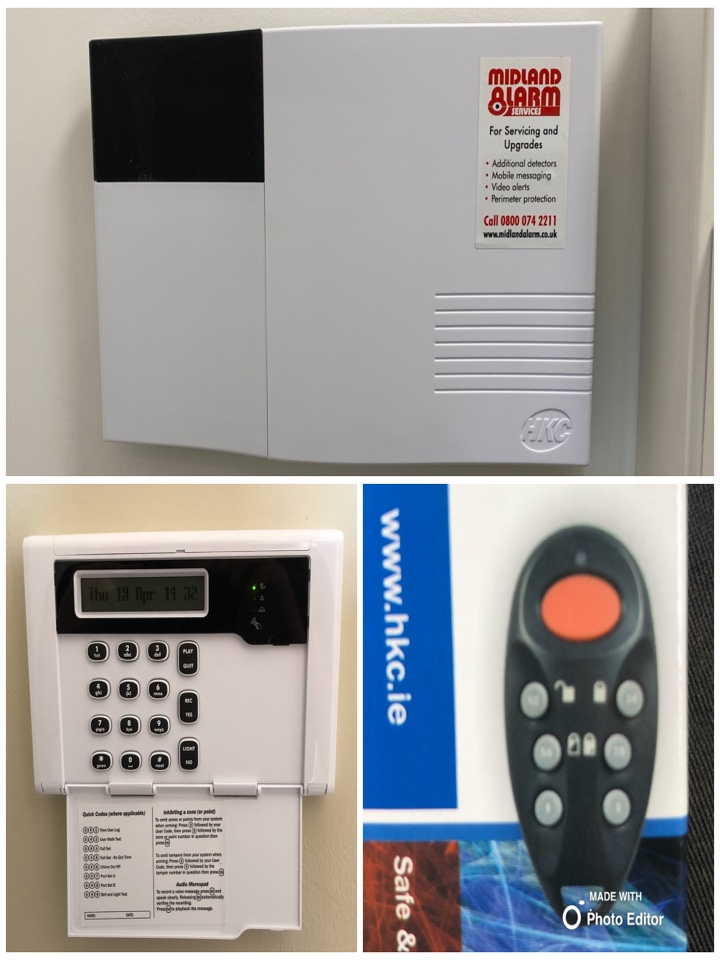 Alarm service on an HKC Quantum wireless alarm we installed just over a year ago.