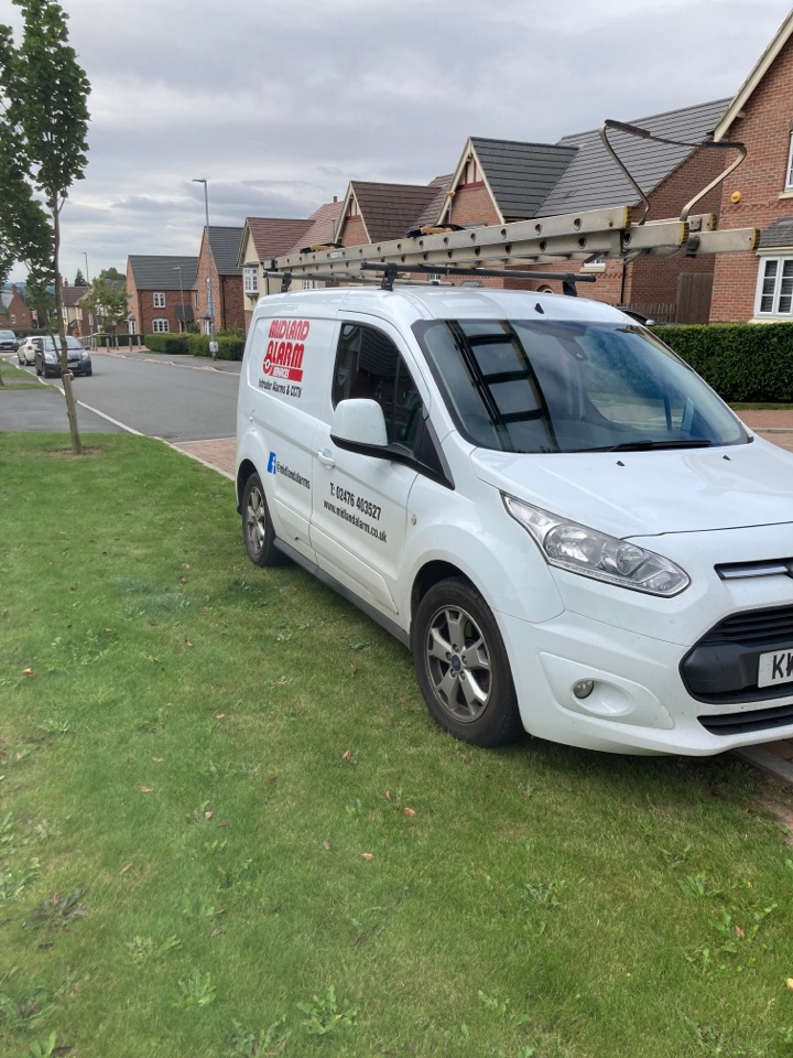 Ashby-de-la-Zouch, Leicestershire - Fully serviced a HKC wireless alarm and changed all batteries
