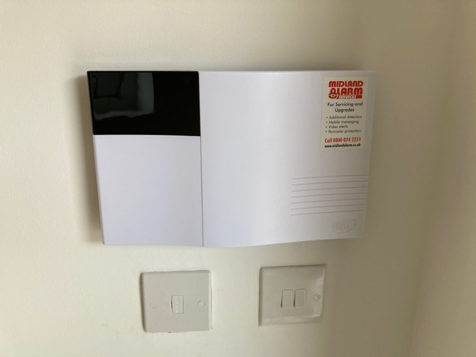 Birmingham, West Midlands - HKC wireless alarm installed in a plot on persimmon perry park view