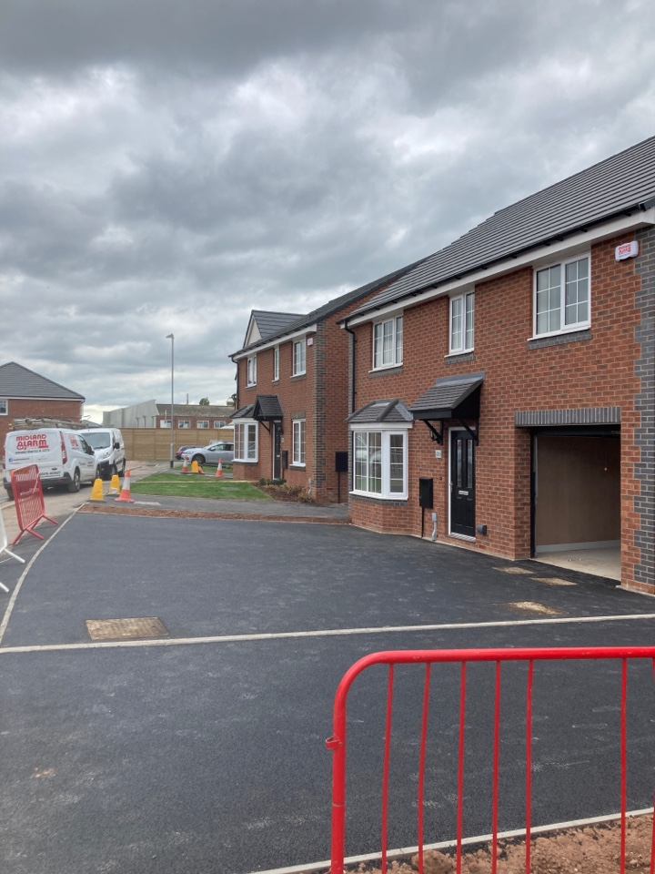 Installed to wireless alarm is on two plots at the Taylor Wimpey Soapstones site