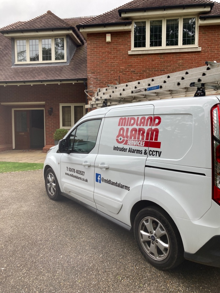 Solihull, West Midlands - Completed a service and battery change on a Guardtec alarm