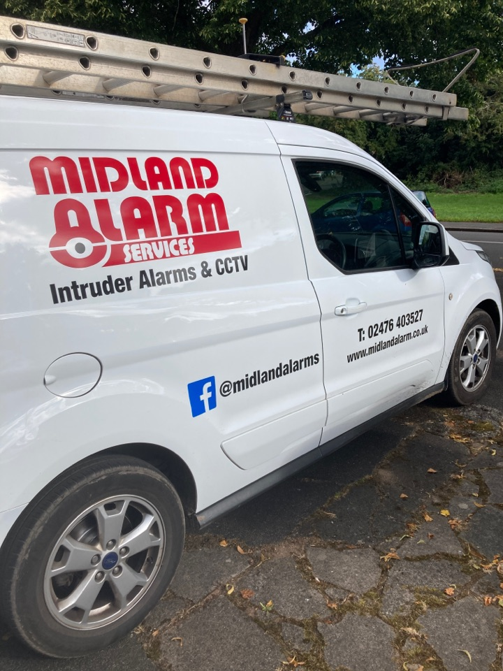Birmingham, West Midlands - Serviced a wired and wireless alarm and change batteries