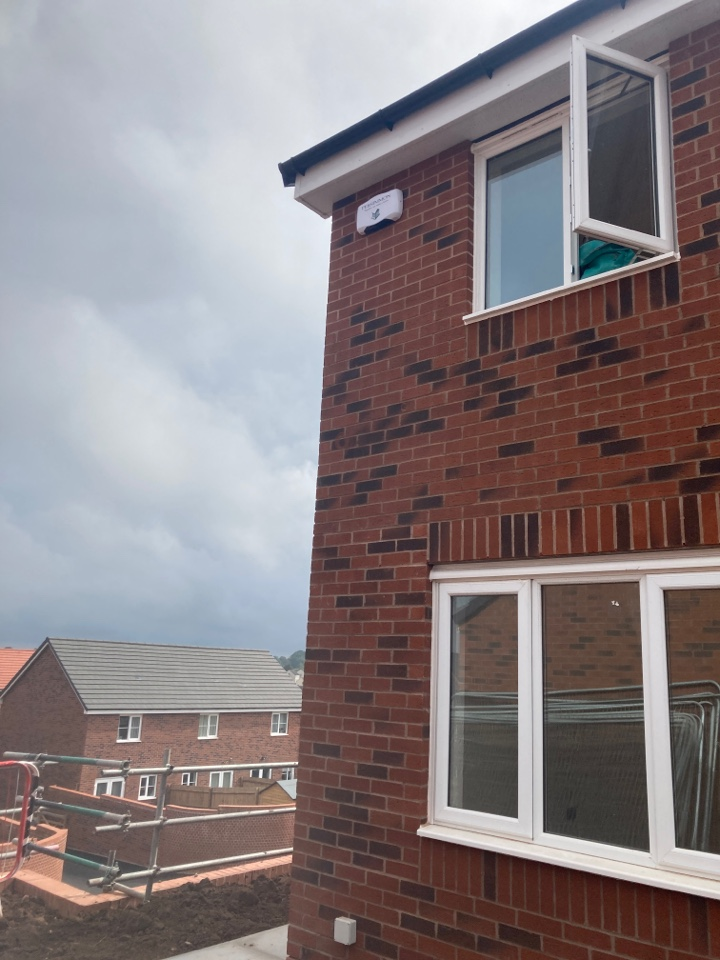 Redditch, Worcestershire - Installed a HKC wireless alarm at persimmon Meadow view