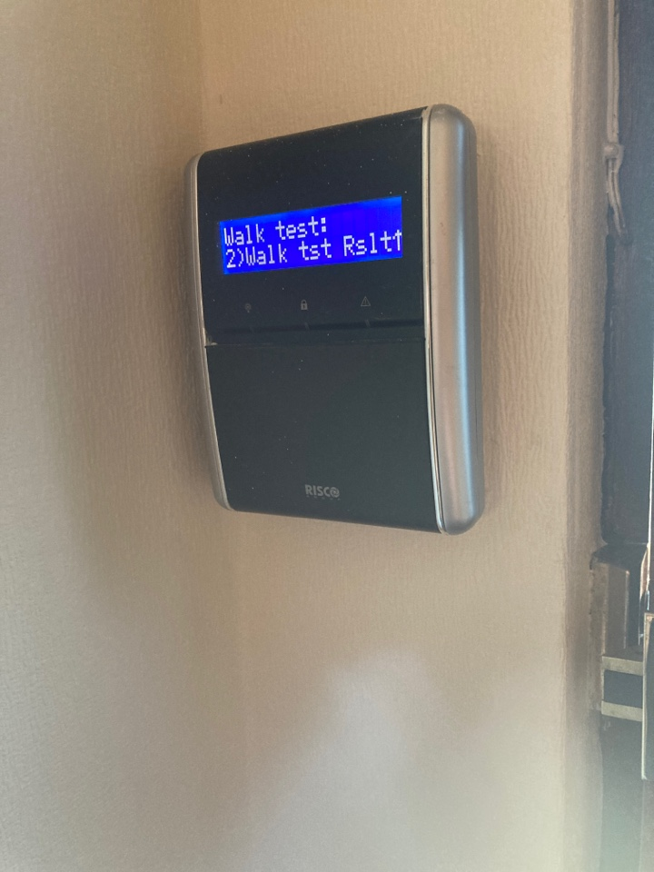 Coventry, West Midlands - Serviced a Risco Agility alarm system