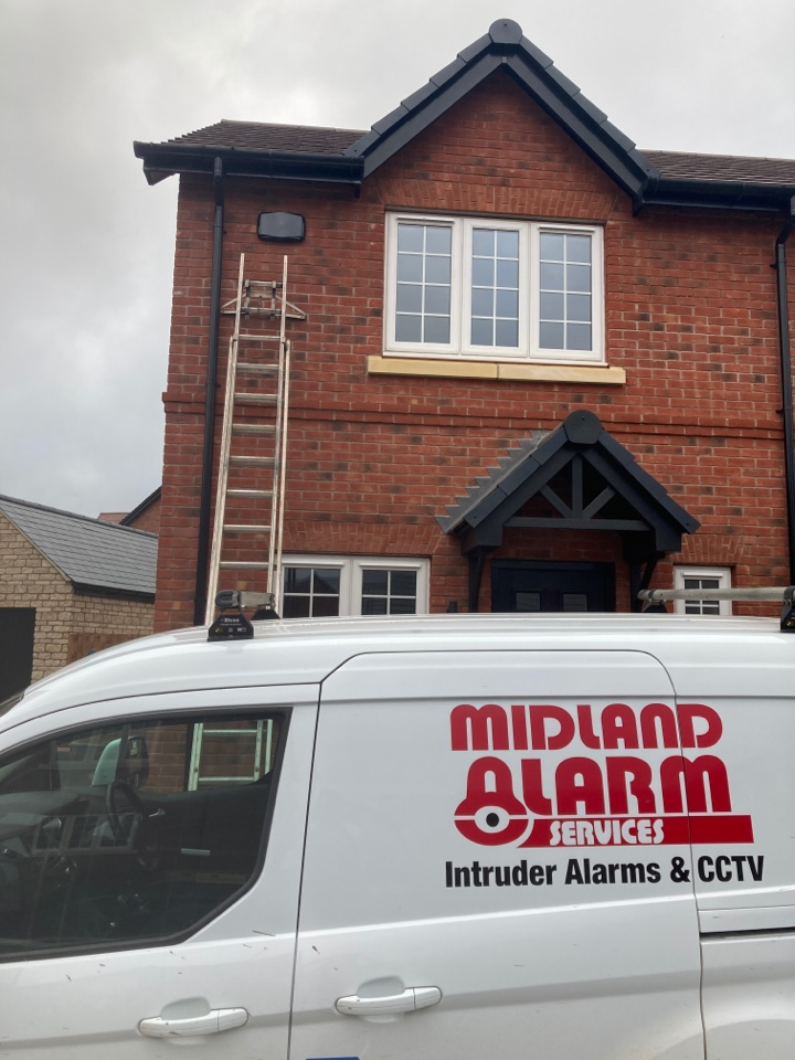 Stratford-upon-Avon, Warwickshire - Installed another HKC alarm on the Carla Long Marston site