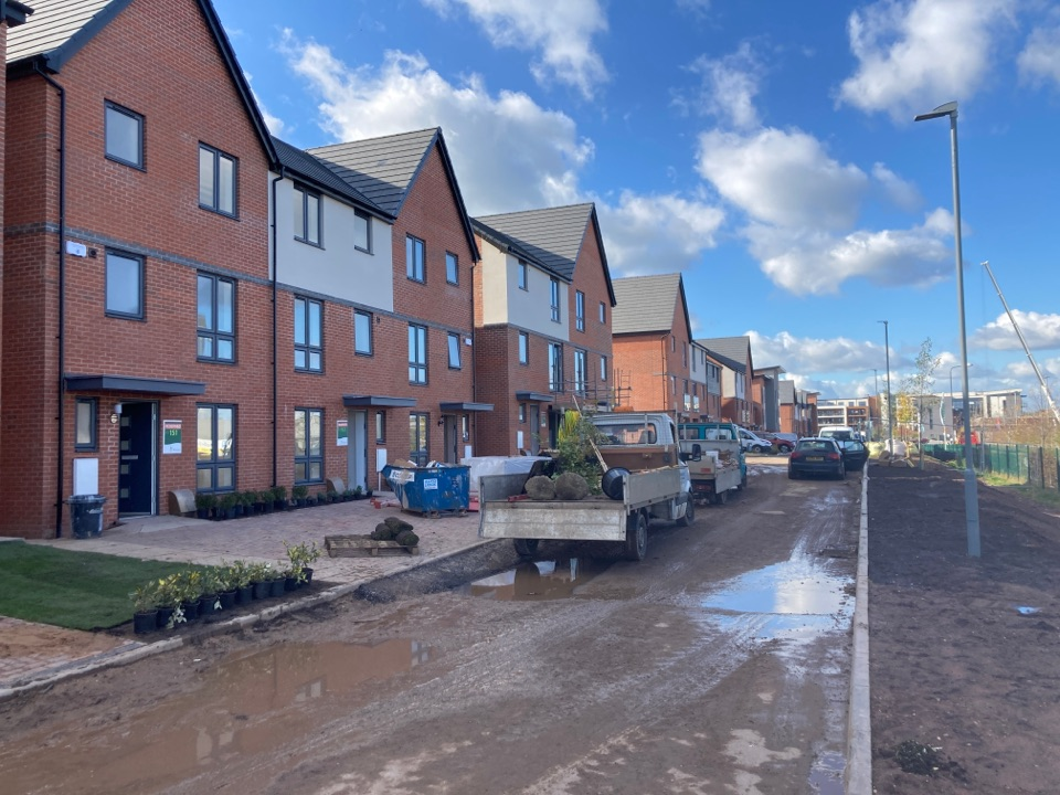 Birmingham, West Midlands - Installed 2HKC wireless alarms on the persimmon site