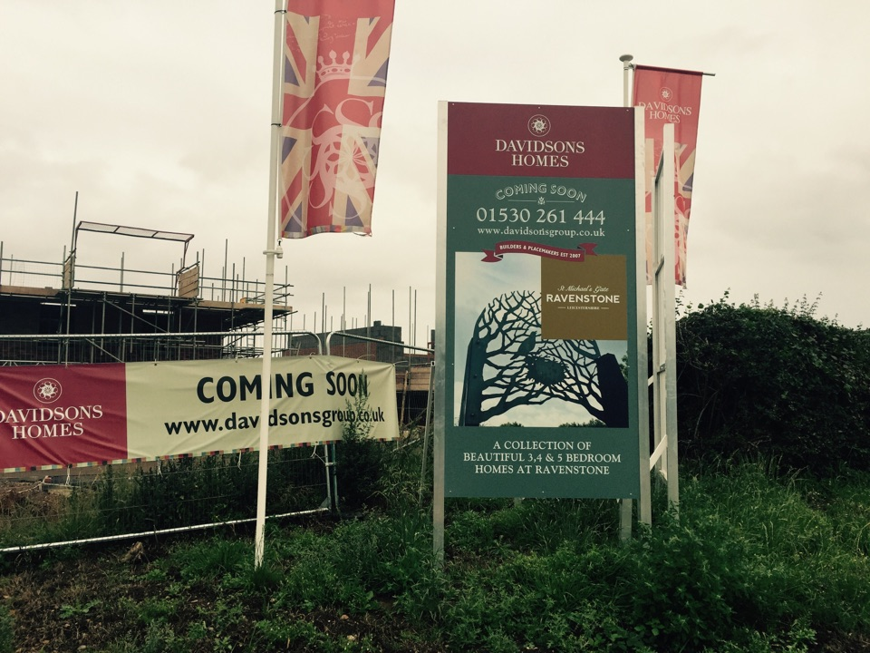 Coalville, Leicestershire - A lovely new development of 65 luxury homes in Ravenstone where we will be shorlty fitting home security & Sonos audio systems for Davidsons Homes
