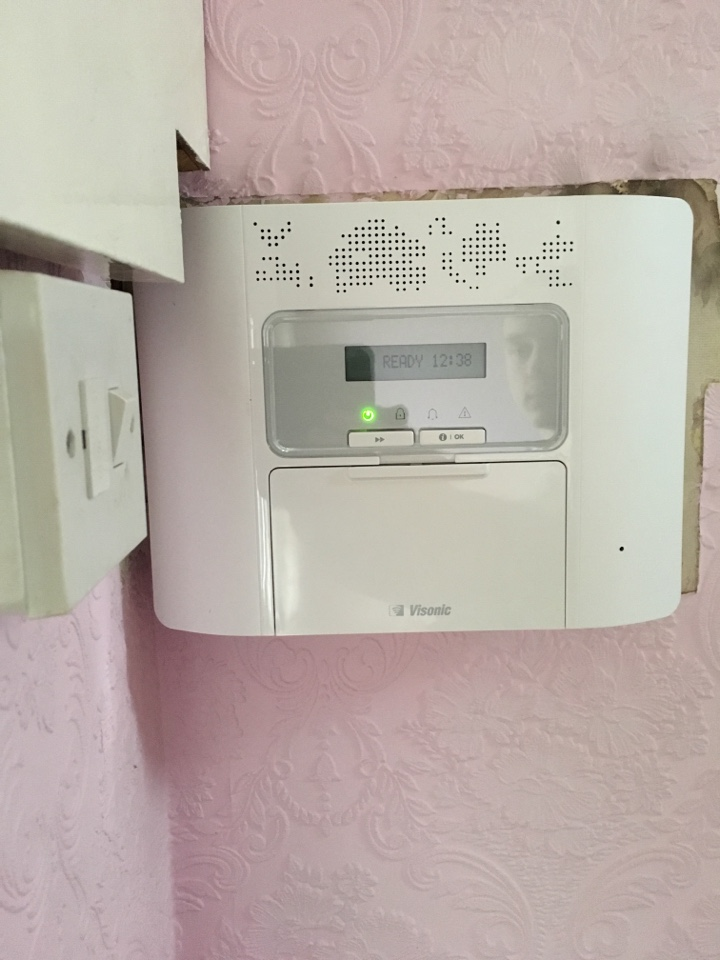 At a redrow site to complete installation of new door contact and new bell box for power master 30 wireless alarm system