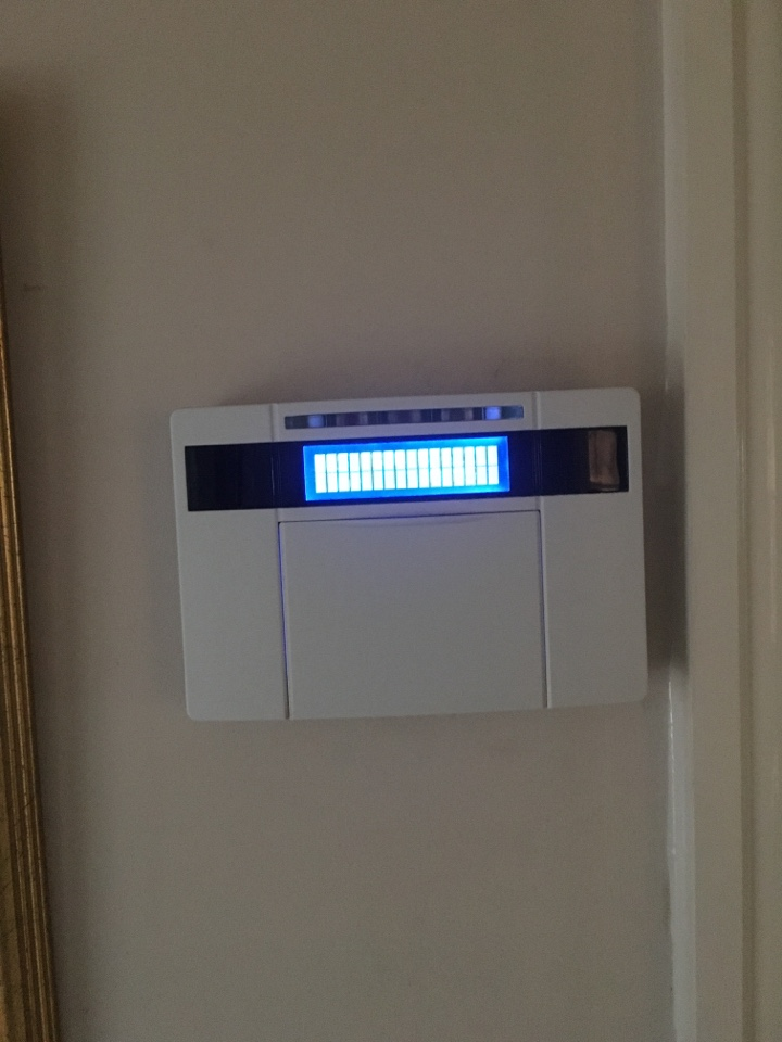 Service to euro mini alarm system is all done , no problems pervious and sailed through service !