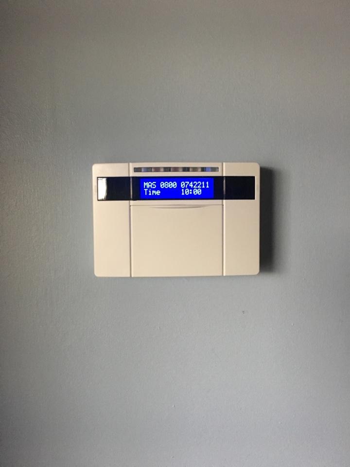 Service to euro mini alarm system