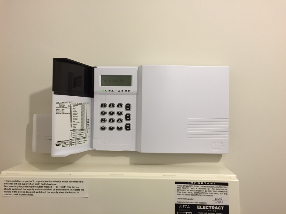 West Bromwich, West Midlands - Just finished installing an HKC Quantum alarm for a new customer.