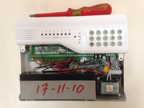 Studley, Warwickshire - ADE Optima alarm system in Studley, Warwickshire.