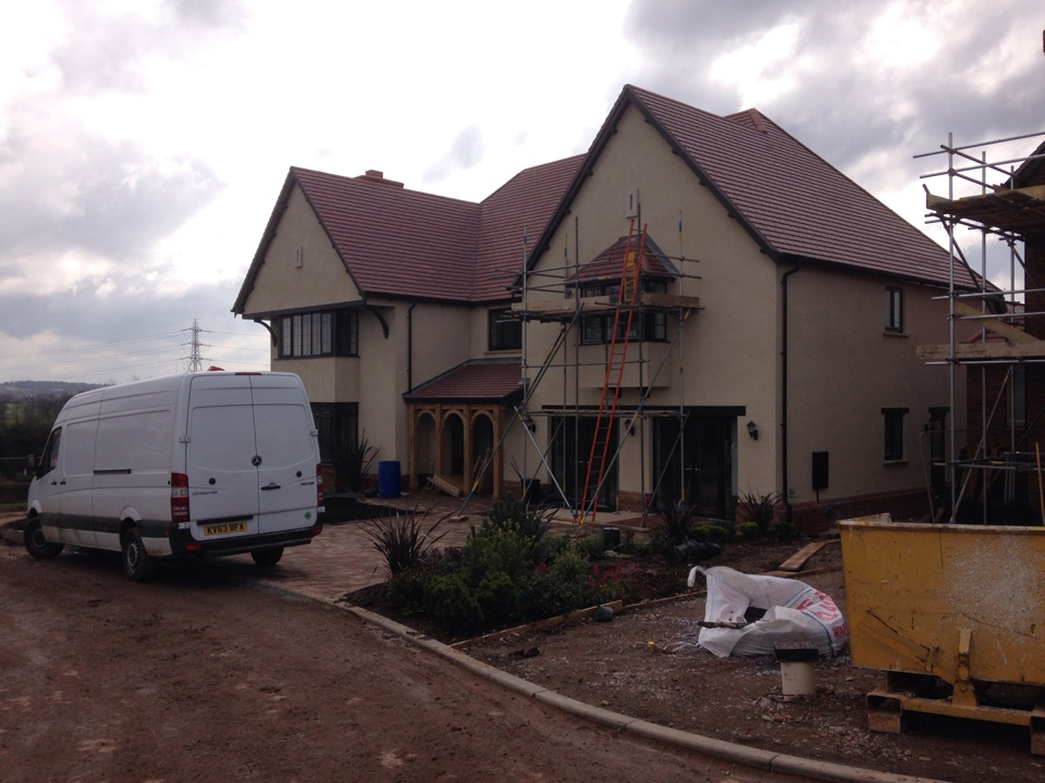 We are supplying the alarm systems for Luxury Cala Homes in Aldridge.