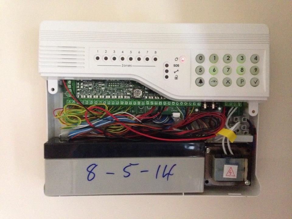 Intruder alarm: optima compact intruder alarm manual.