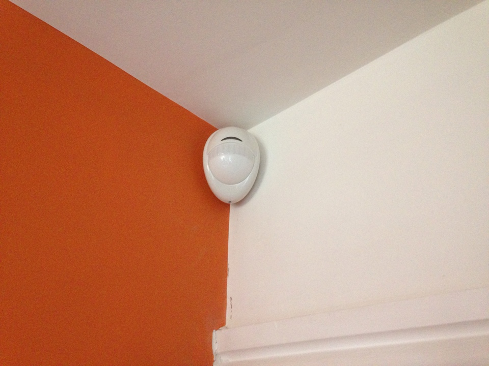 New wireless alarm system installation fitted in Bedwiorth
