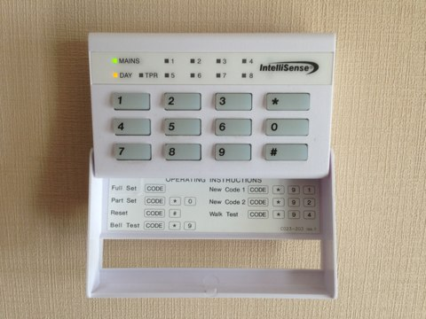 Annual service to Intellisense alarm system in Kingswinford.