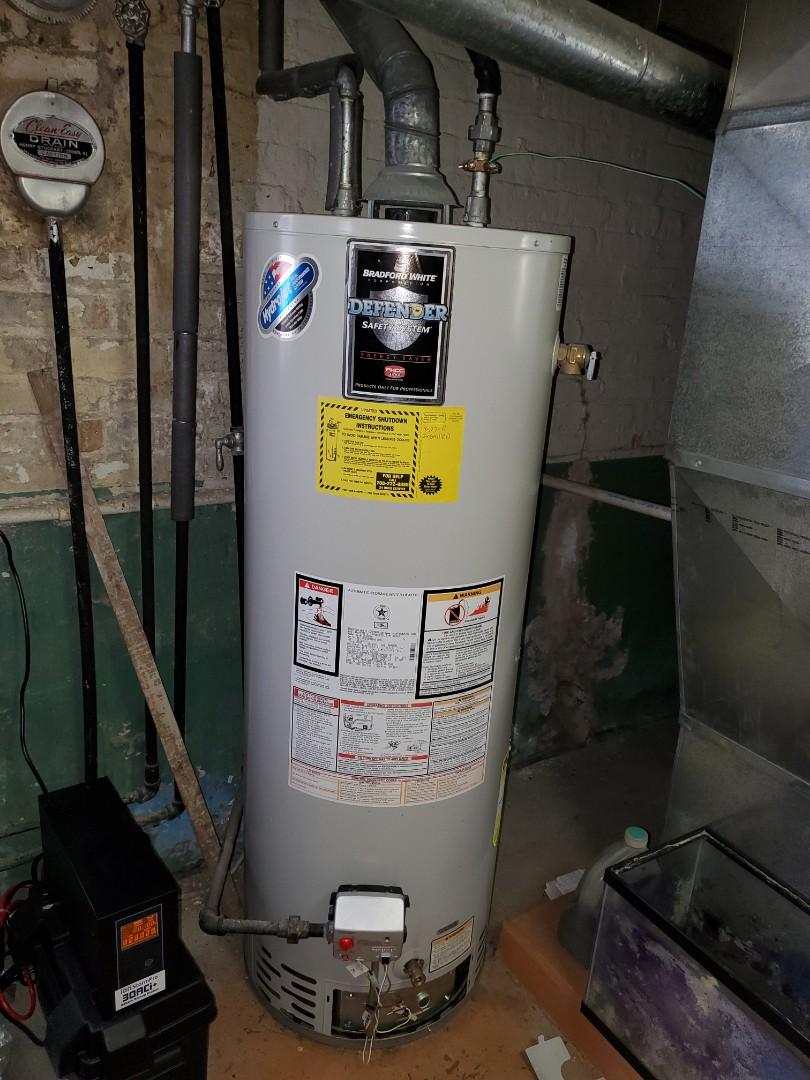 Berwyn, IL - Hot water tank estimate. And furnace maintenance