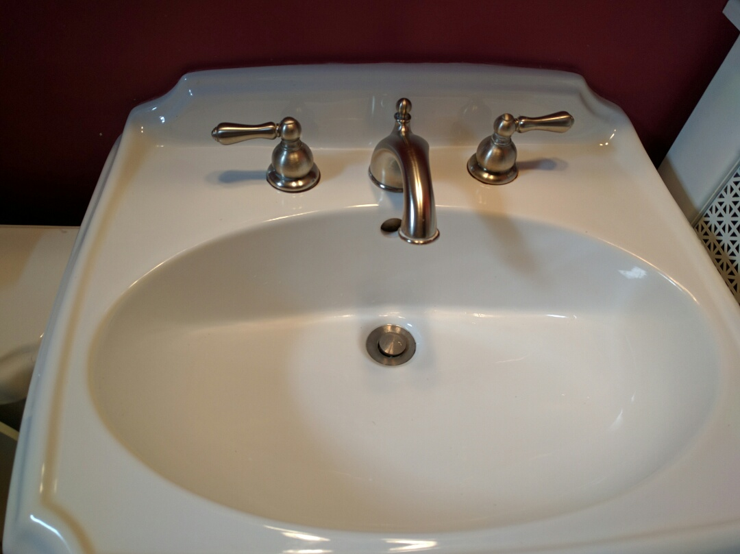 Westmont, IL - Bathroom faucet.