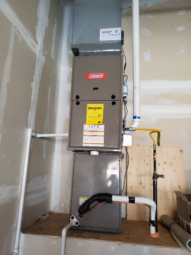 Lake Stevens, WA - Starting annual maintenance on a Coleman Heating system for great existing customers in lake Stevens