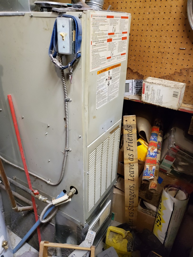 Woodinville, WA - Finishing up a service on an ICP furnace for a great customer in Woodinville