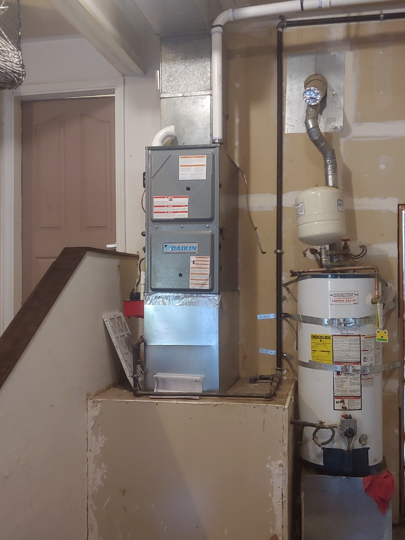 Lake Stevens, WA - Today's install of a high efficiency Daikin furnace for a great customer in Federal way
