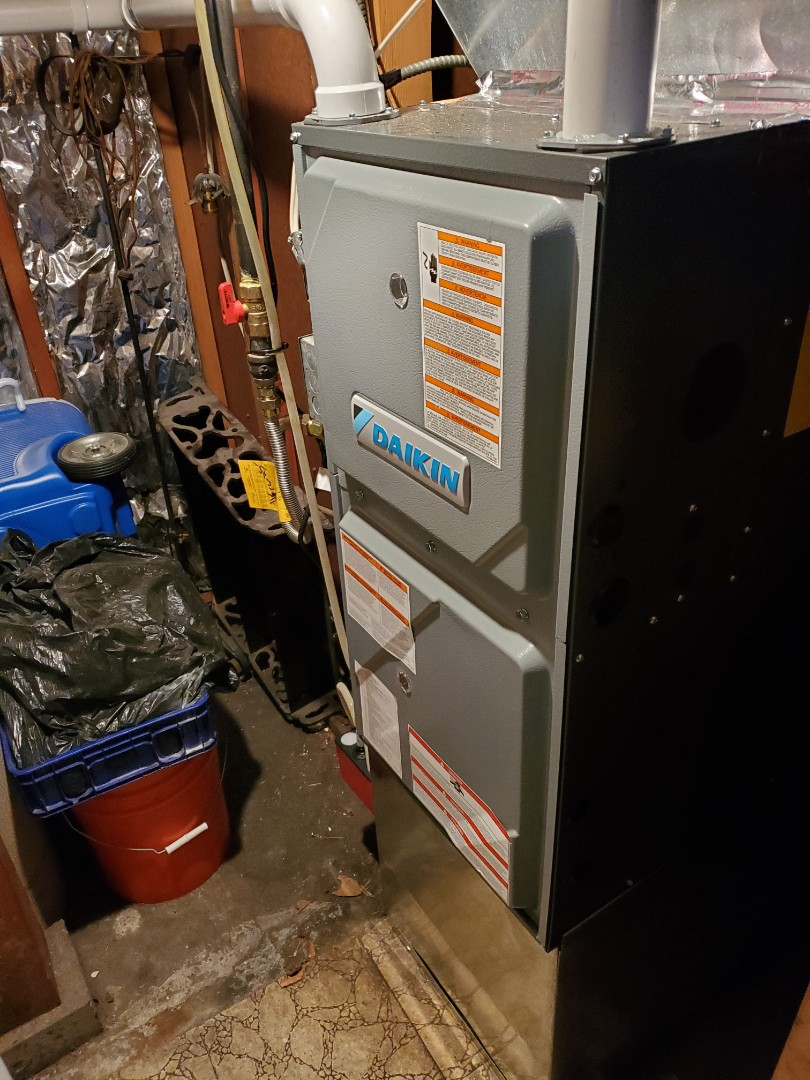 Seattle, WA - Doing a 2nd high efficiency Daikin furnace for a great customer in the greenwood area of Seattle