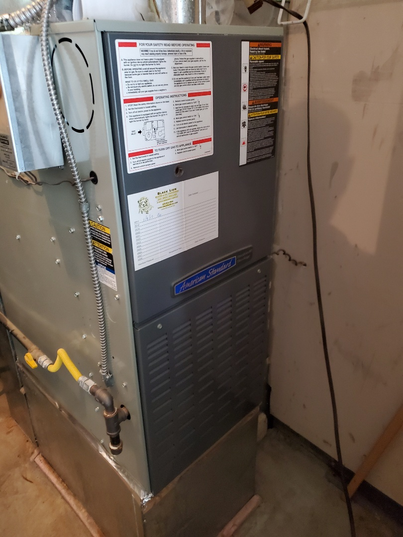Snohomish, WA - Started a furnace service on an American standard furnace for a great customer in the falls area of Snohomish