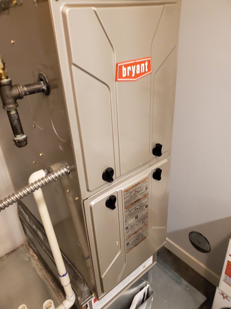 Seattle, WA - Servicing a Bryant furnace for a great customer in Seattle