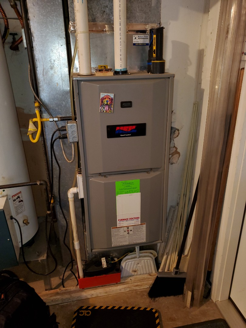Snohomish, WA - Servicing a Heil furnace for a great customer in Snohomish