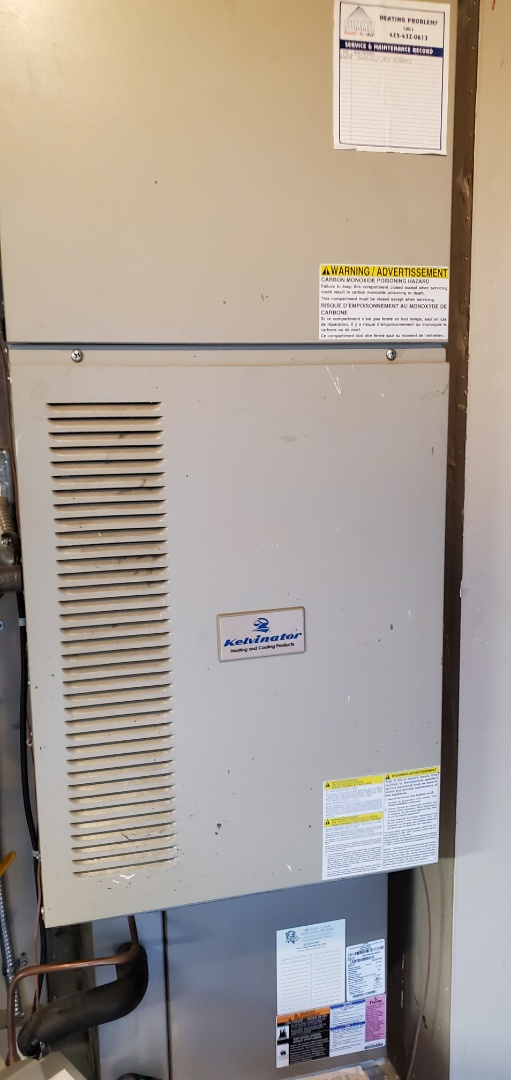 Maple Valley, WA - Servicing a kelvinator furnace for a great customer in Maple valley