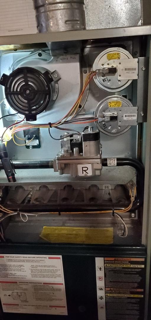 Kirkland, WA - Servicing a Trane furnace for a great customer in Kirkland