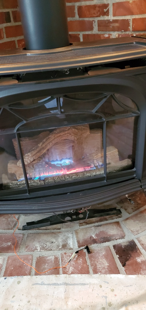Snohomish, WA - Repairing a Vermont casting fireplace for a great customer in Snohomish