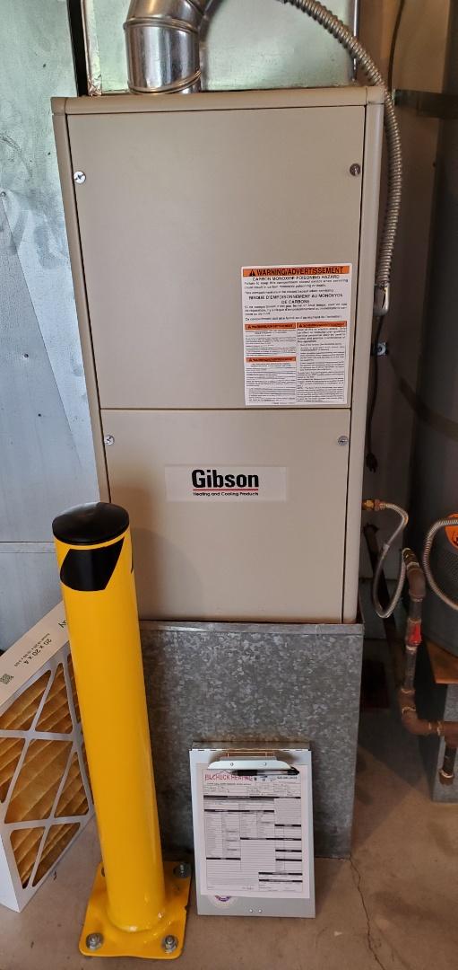 Mukilteo, WA - Servicing a Gibson furnace for a great customer in Mukilteo