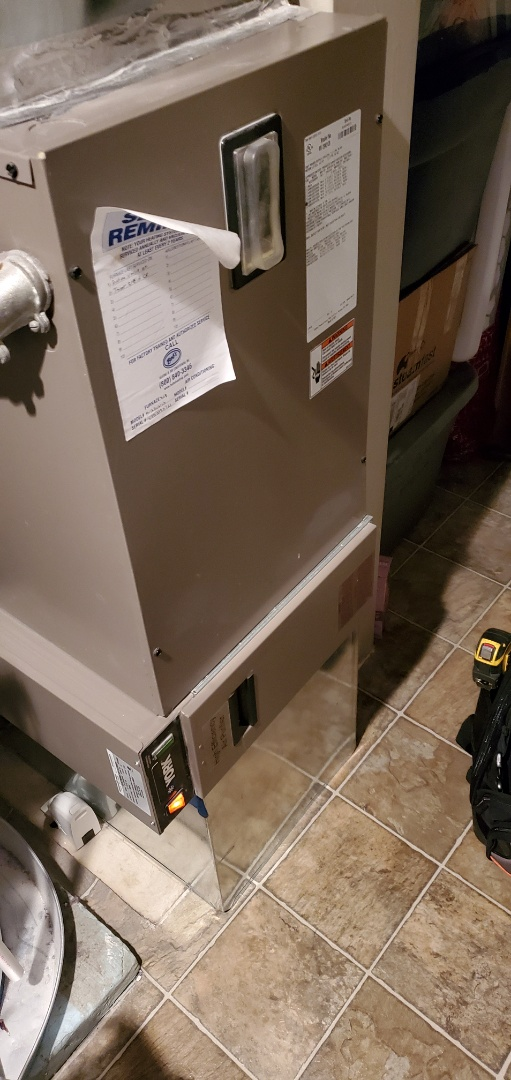 Bellevue, WA - Servicing a Coleman electric furnace for a great customer in Bellevue
