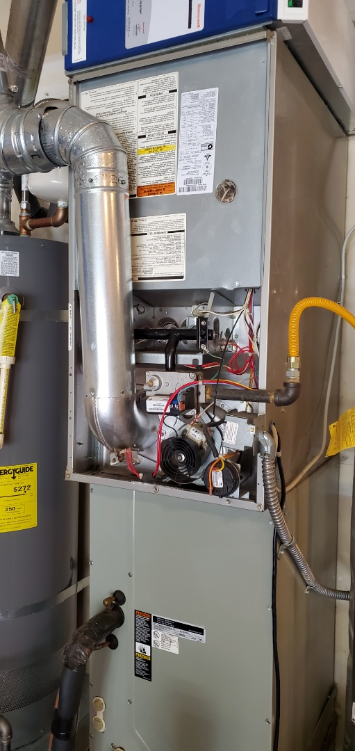 Snohomish, WA - Servicing a Bryant furnace for a great customer in Snohomish