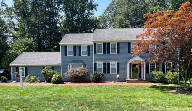 Fairfield, CT - Ready for a curb appeal upgrade? These homeowners are and will be doing so with James Hardie fiber cement siding for a durable, sustainable and beautiful option!