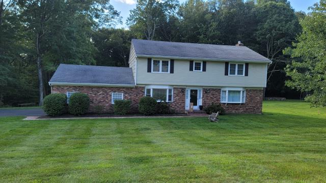 Trumbull, CT - This Trumbull home will be getting an exterior makeover with James Hardie siding that will provide the home with low maintenance, durability, and a beautiful option for added curb appeal.