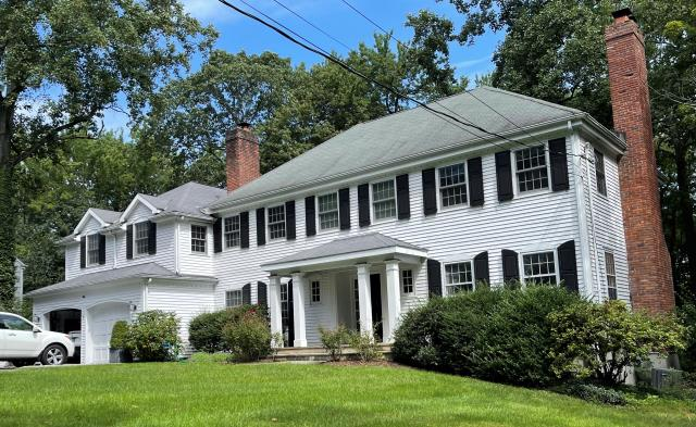 Darien, CT - This Darien homeowner is interested in updating their old, worn roof and replacing it with new CertainTeed Asphalt LandmarkPro shingles. We came out to evaluate and provide them with a free estimate.
