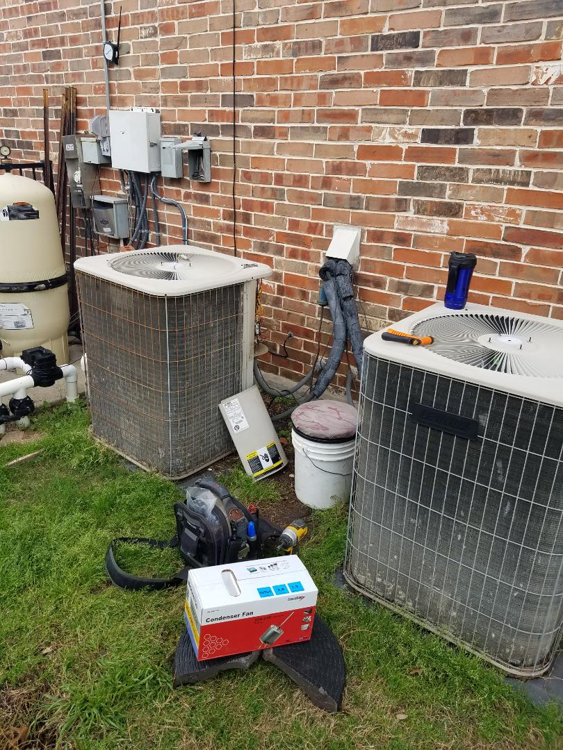 Inspection Airconditioning A/C Check and repairs. Carrier Trane Lennox Goodman
