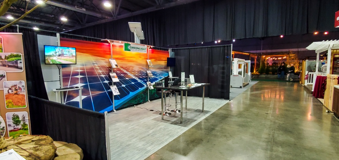 Portland, OR - Come see us at the Portland Expo Center for the HUGE Spring Home & Garden Show Feb 20-23, 2020! We are in booth 533, in row 500. Come see us and save $500 on your energy saving solar system!