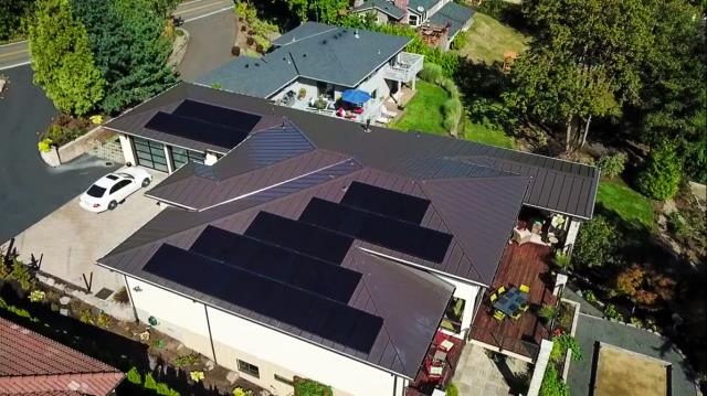 Lake Oswego, OR - Solar Installation by Greenlight Solar and Roofing located in Lake Oswego, Oregon. New 2020 Oregon rebates, email marketing@greenlight-solar.com