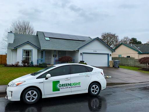 Battle Ground, WA - This customer saved thousands on their taxes by taking advantage of the 26% federal tax credit that can be used when purchasing a solar system for your property. Call us today for more information.