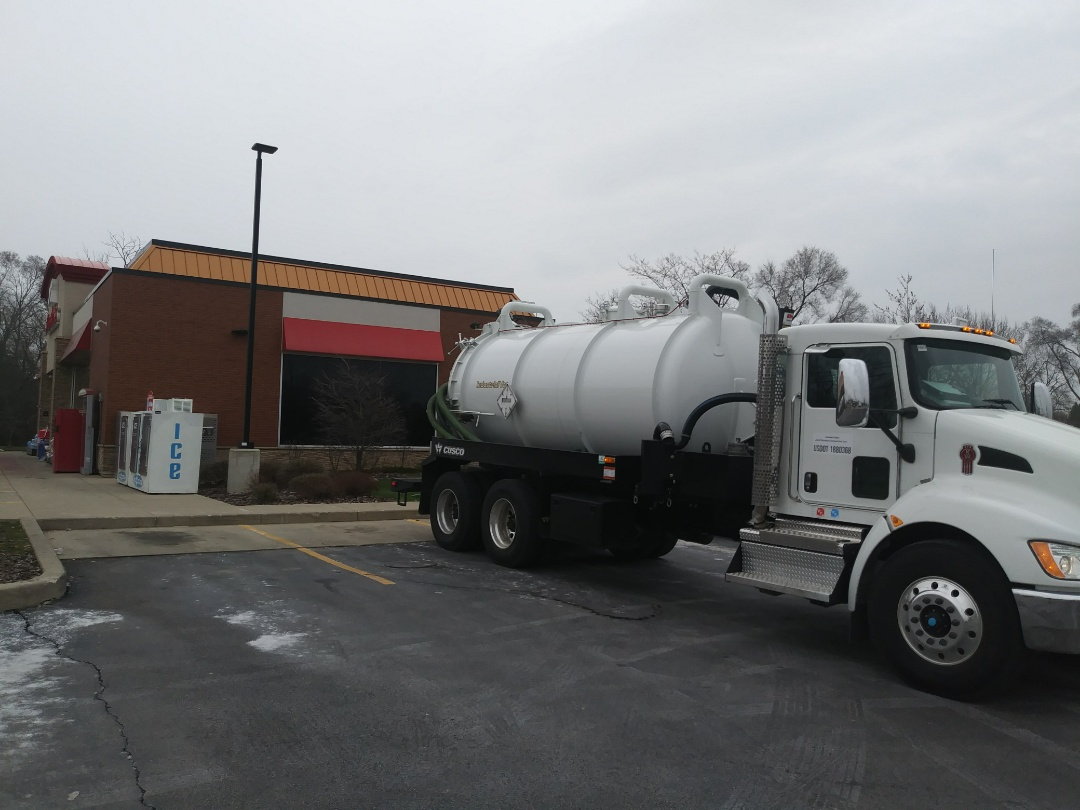 Third Lake, IL - Pump and clean outside grease trap