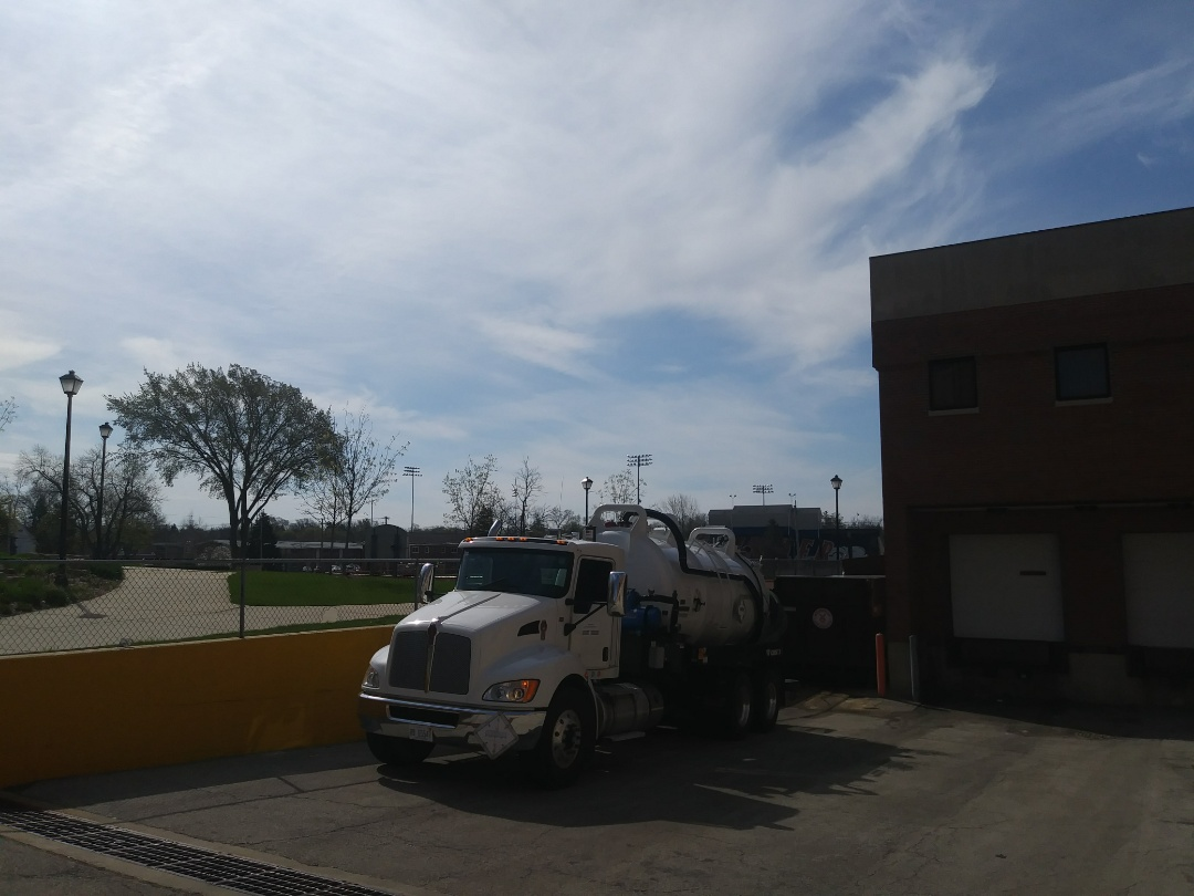 Wheaton, IL - Pump and clean outside grease trap