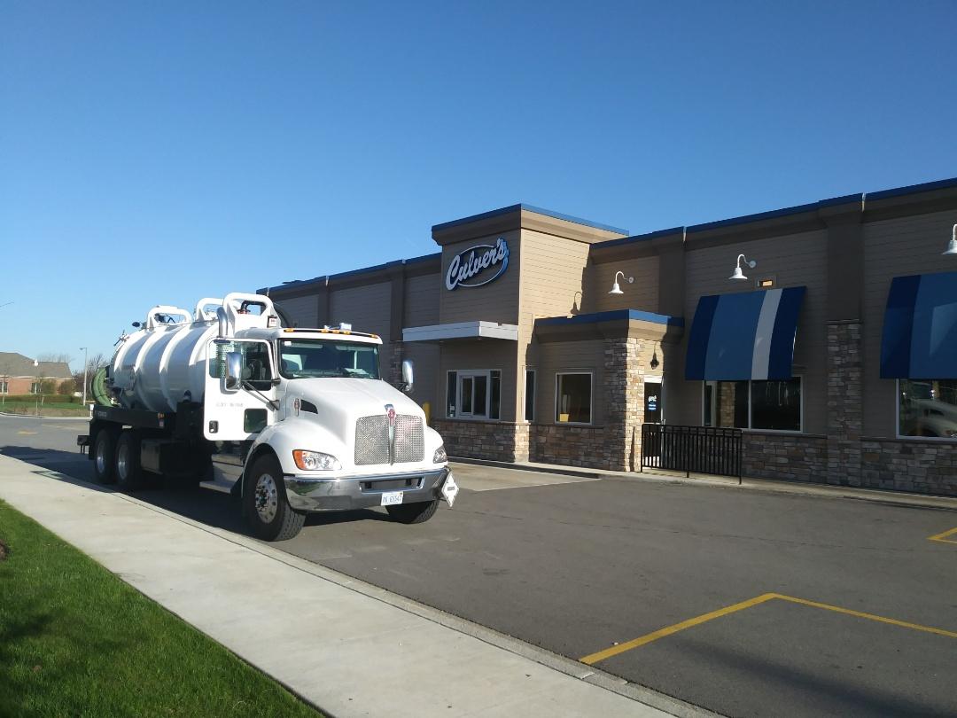 Sugar Grove, IL - Pump and clean outside grease trap